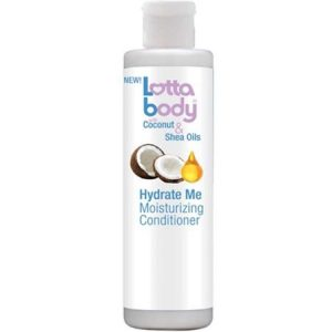 2 Pack – LOTTA BODY Hydrate Me Moisturizing Conditioner with Coconut & Shea Oils 10 oz