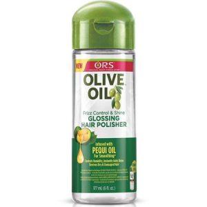 3 Pack – Organic Root Stimulator Anti-Frizz Olive Oil Glossing Polisher, 6 oz
