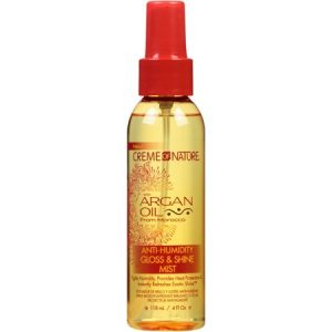 Creme Of Nature Argan Oil From Morocco Anti-Humidity Gloss & Shine Mist, 4.0 FL OZ