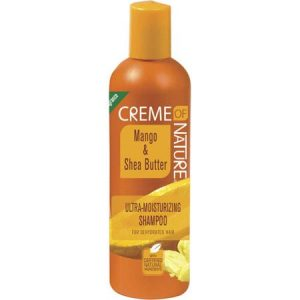 Creme of Nature Mango & Shea Butter Ultra-Moisturizing Shampoo, 12 oz