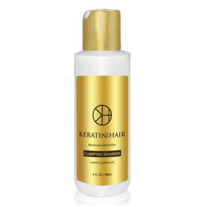 Keratin For Hair Clarifying Shampoo Champu Pre-Tratamiento Anti-Residue Deep Cleaning 8 fl oz