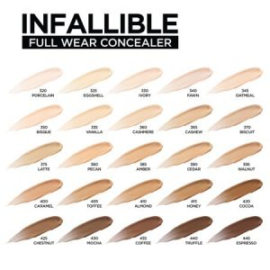 L'Oreal Paris Infallible Full Wear Concealer Waterproof, Full Coverage, Porcelain2