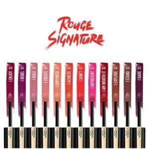 L'Oreal Paris Rouge Signature Matte High Pigment, Lightweight Lip Ink, I Stand4