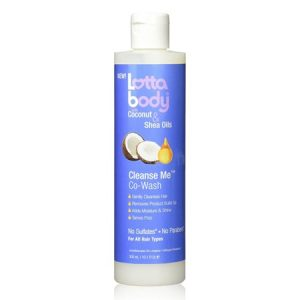 Lotta Body Cleanse Me Hair Co-Wash with Coconut And Shea Oil, 10.1 Oz