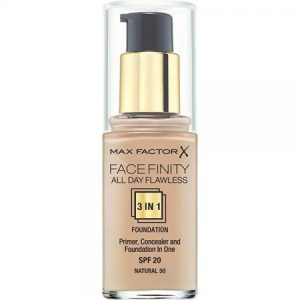 Max Factor Facefinity All Day Flawless 3 in 1 Foundation (SPF20) – 50 Natural