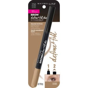 Maybelline New York Eyestudio Brow Define + Fill Duo, Blonde3