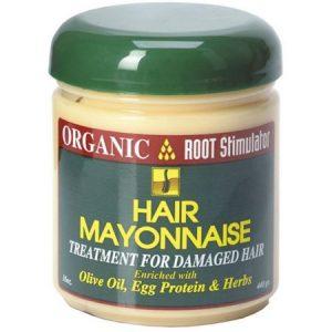 Organic Root Stimulator Hair Mayonnaise Treatment, 16 oz (Pack of 3)
