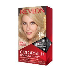 Revlon ColorSilk Beautiful Color™ Hair Color, Light Ash Blonde