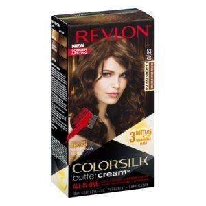 Revlon colorsilk buttercream hair color, 53 medium golden brown1