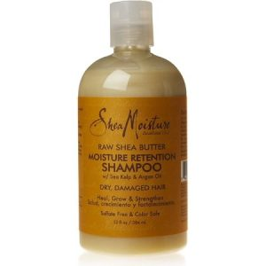 Shea Moisture Moisture Retention Shampoo Raw Shea Butter, 13.0 Fl Oz