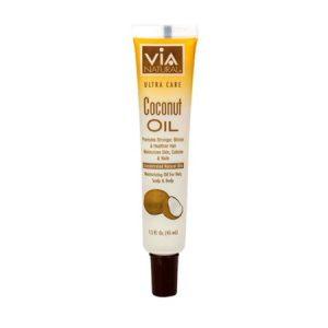 Via Natural Ultra Care Coconut Oil for Hair, Scalp & Body, 1.5 FL OZ