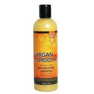 argan smooth epic moisture shampoo, 12 fluid ounce